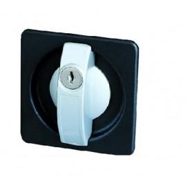 Zamek do szaf metalowych biurowych, drzwiowych, skrzydłowych ZKB4